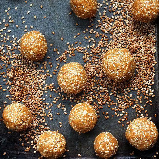 Halvah #food My favorite desert/sweets. Made of sautéed sugar and wheat flour.