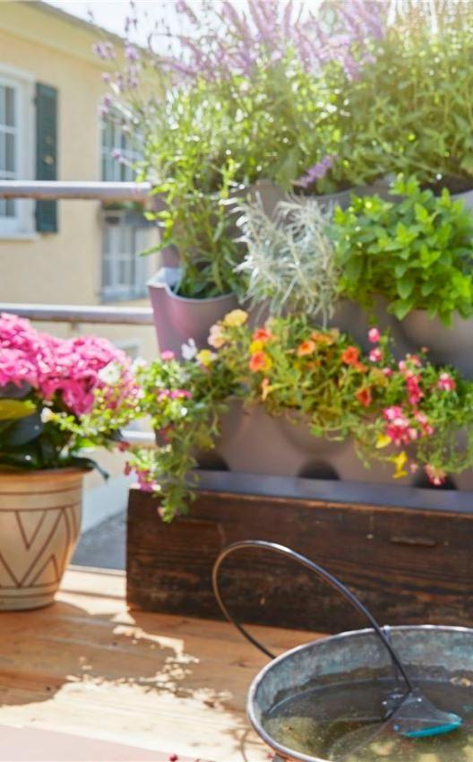 Solutions Gain De Place Pour Petits Balcons Et Jardins