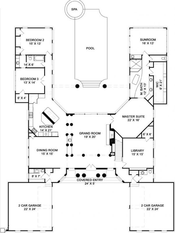 First Floor Plan Floor Plan Gallery Pinterest House plans