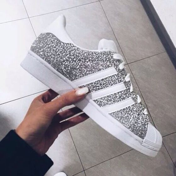 adidas superstar glitter 5.5