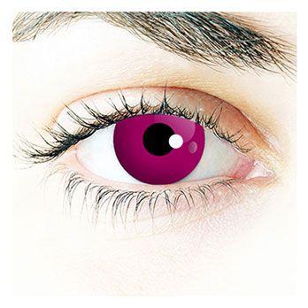 Violet - Purpur Auge (violette Kontaktlinse)