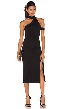Finders Keepers Fading Nights Dress in Black