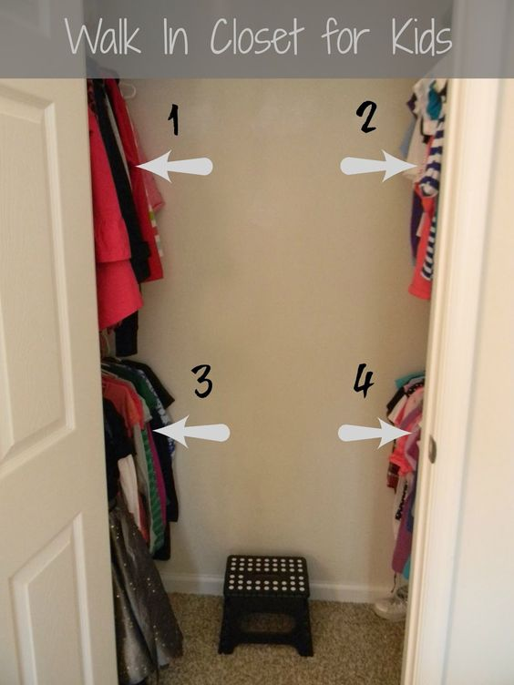 Finished Convert The Kid And Spare Room Closets Into Walk In Closets Home Pinterest