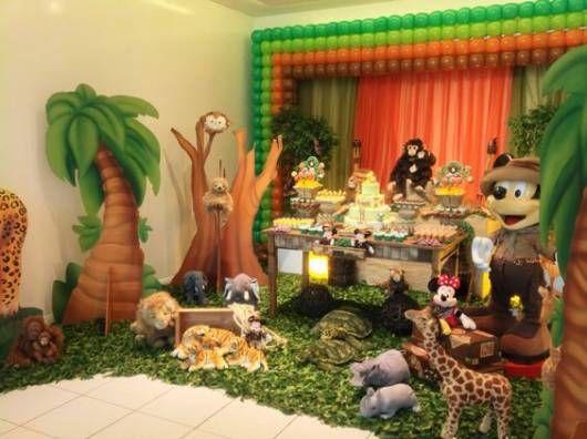 Festa Mickey Safari 48 Ideias Incriveis Para A Decoracao E