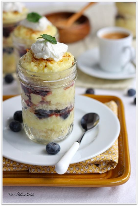 Lemon pound cakes, Pound cakes and Parfait