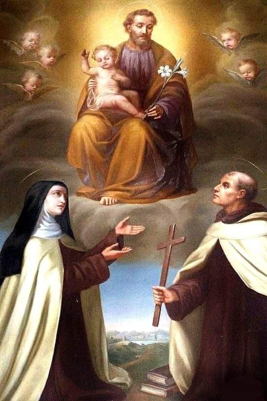 Pin by Comunidade São José on SANTOS | St joseph, Saint teresa of avila,  Catholic images