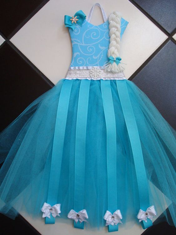 Boutique Disney Frozen Inspired Princess by somethinchicboutique