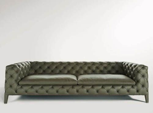 Leather Sofa Windsor by Arketipo Chairs,Stools,Lounging,Seating - designer sofa windsor arketipo