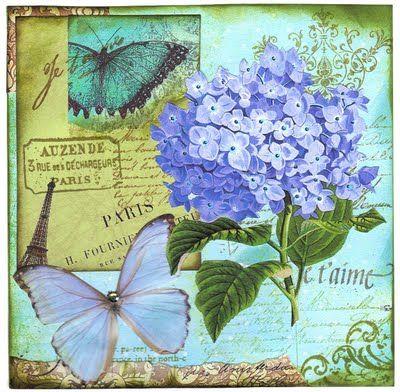 Enchanting Hydrangea Card