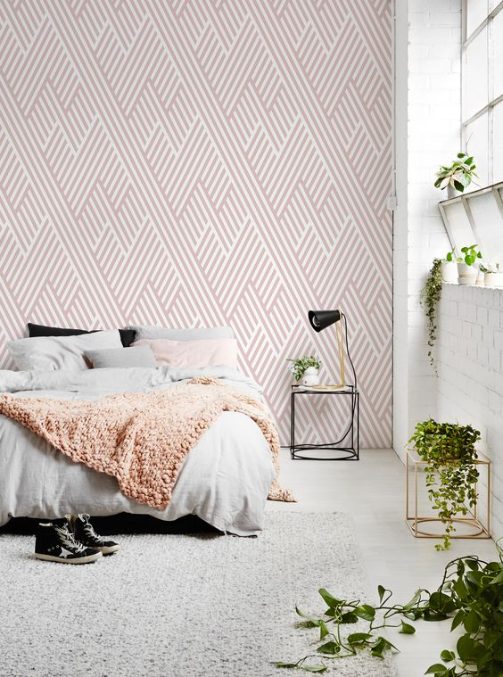 Broken Lines Removable Wallpaper Wallpaper is 100% removable- it means it can be removed or repositioned when needed without damaging the surface beneath