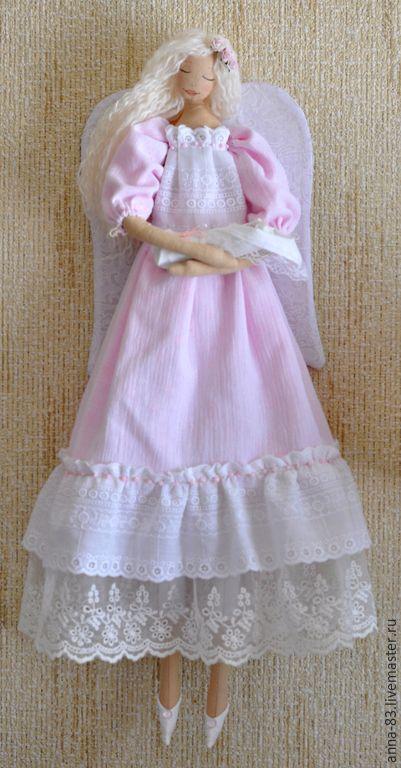 """Coleção bonecas artesanais.  Todas as mães - Angels!.  """"Pansies conto de fadas.""""  Mestres justas.  Angel - minha mãe, algodão"""