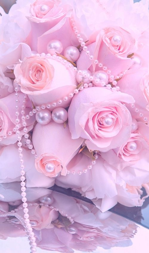 Image Discovered By Geya Discover And Save Your Own Images And Videos On We Heart It Pink Flowers Wallpaper Pink Background Pink Roses Coolest pastel color flower wallpaper