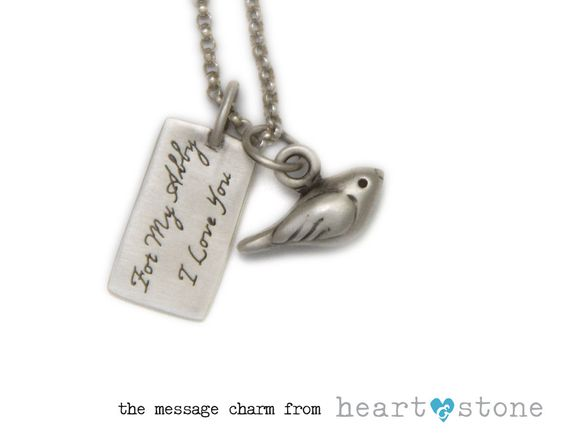 the build-able charm necklace from heartandstonejewelry.com.