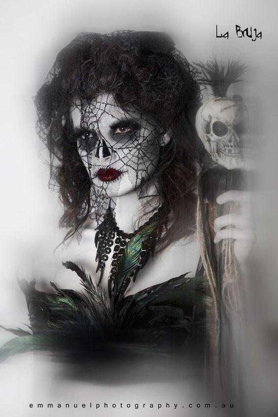 Once Upon a Time in Mexico - en el dia de los muertos by Katriena Emmanuel, via Behance