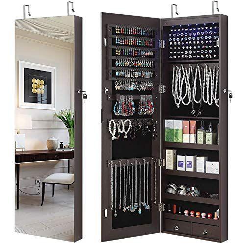 26++ Jewelry wall organizer with mirror ideas