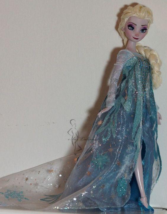 Elsa doll Lulemee Ooak-Art