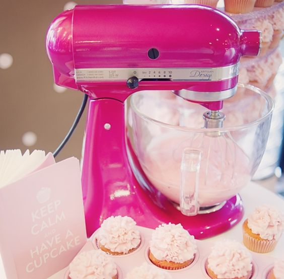 Deliciosos Cupcakes feitos pela KitchenAid