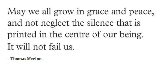 Thomas Merton Grow In Grace May We All A Writer S Life