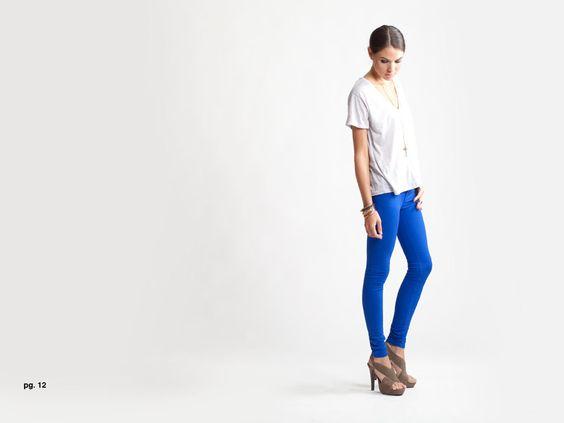 Baldwin Cobalt Jeans