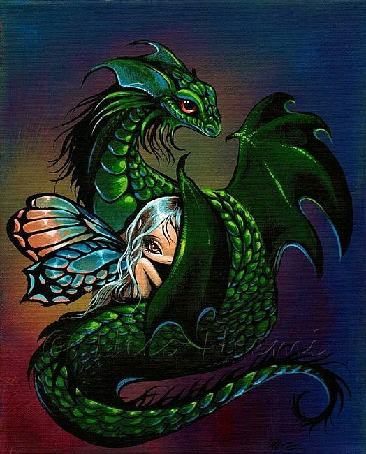 Art: Comfort Me ~ by Artist Nico Niemi Dragon Hatchling Egg Baby Babies Cute Funny Humor Fantasy Myth Mythical Mystical Legend Dragons Wings Sword Sorcery Magic Art Fairy Maiden Whimsy