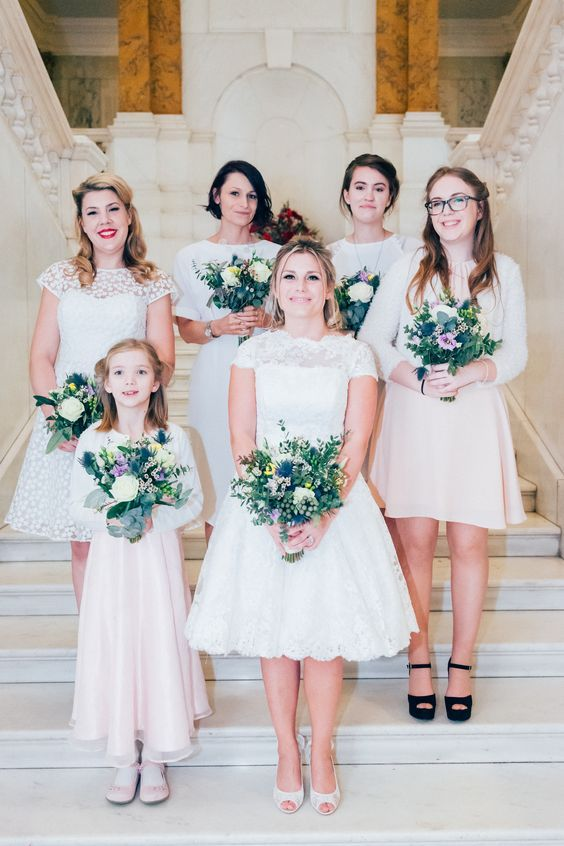One of our pretty bridal parties Hair & makeup WHAM Artists http://weddinghairandmakeupartists.com/