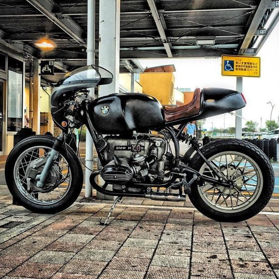 BMW R100S Cafe Racer - TT&CO. Japan #motorcycles #caferacer #motos | caferacerpasion.com