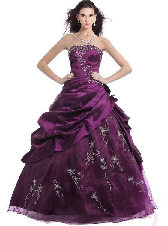 purple quinceanera dresses under 100$ dollars for plus size prom ...