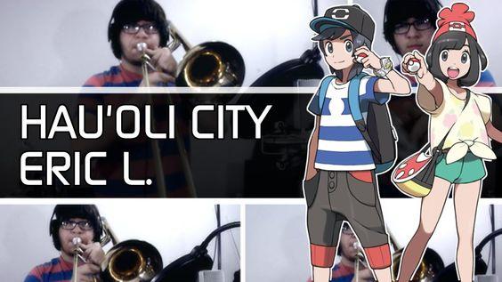 Hau'Oli City: Pokémon Sun & Moon - 5/4 Jazz Cover  Eric L.