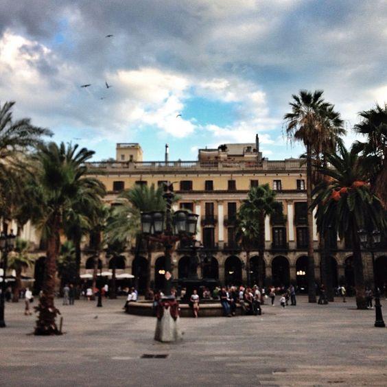 Plaça Reial #Barcelona