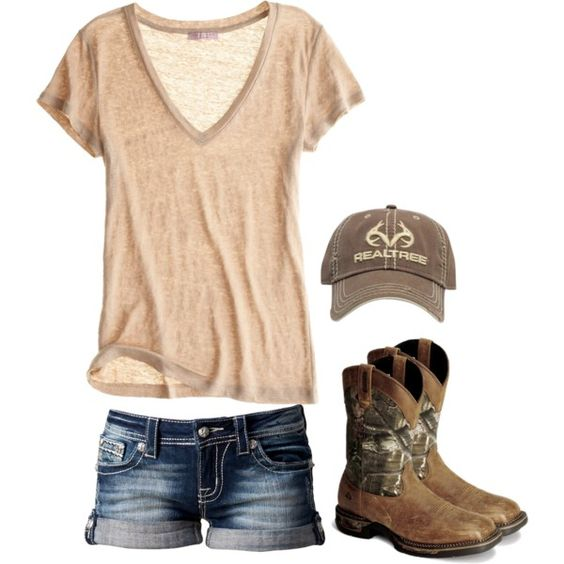 """This is so me. """"Fishing"""" by redneckprincess26 on Polyvore."""