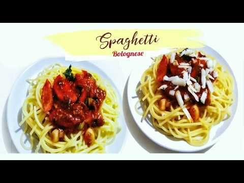 Masak Spaghetti Instan Bolognese Yang Pasti Enak Youtube Di 2020 Makanan Resep Spaghetti
