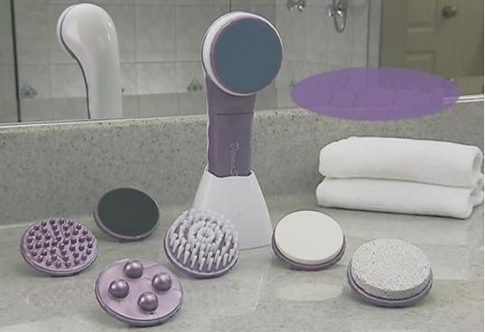 Ultimate Full Body SPA Treatment System,  Massager Cleaning Kit ,Hair Remove, Exfoliates Dry Skin It is a dream come true painless hair removal system that provides you with all of the benefits of a spa visit, without expensive spa prices.