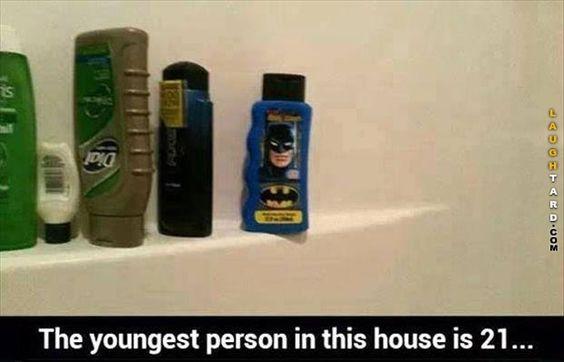 Batman Shampoo