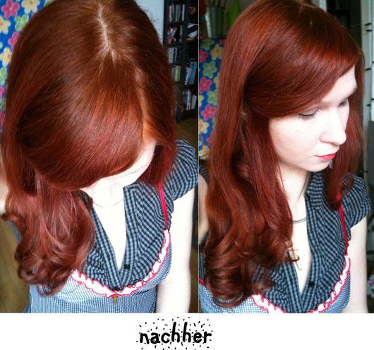 Der haarfarben test
