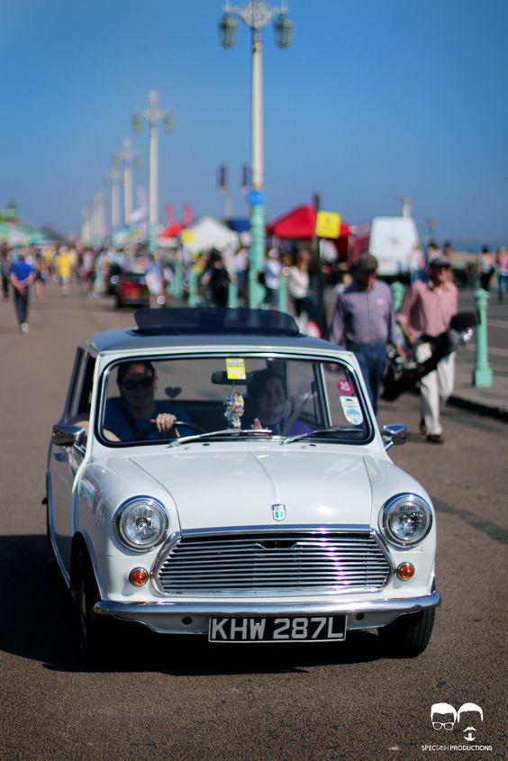 classic mini from London 2 Brighton 2014