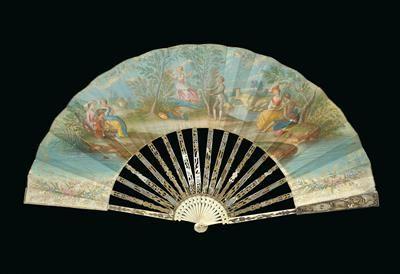 Faltfächer, Holland um 1770/80