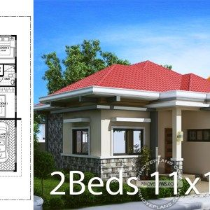 Home Design Plan 13x13m With 3 Bedrooms Home Ideas Small House Design Plans Home Design Plan House Design
