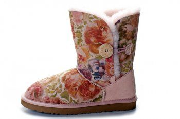 #xmas #gifts Ugg Bailey Button Boots 5803 Peony Sale