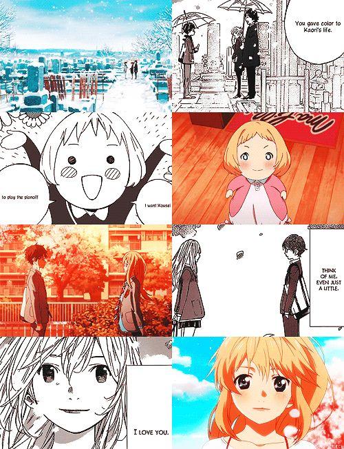 """""""I love you."""" Shigatsu wa Kimi no Uso ⭐️NIZIGEN ⭐️"""