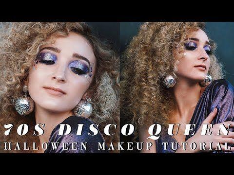 70s Disco Queen Halloween Makeup Tutorial Inspireaveda Youtube