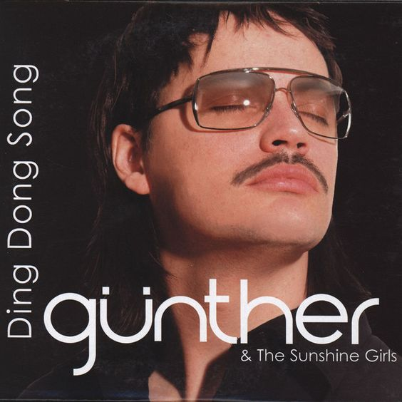 Günther – Ding Dong Song (single cover art)