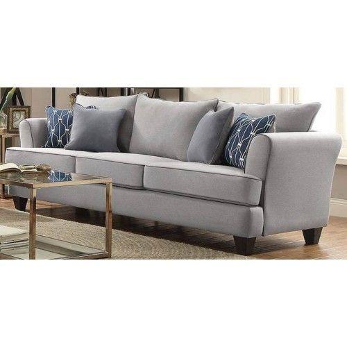 Coaster Furniture Hallstatt Flax Sofa 506291 Furniture Coaster Furniture Sofa