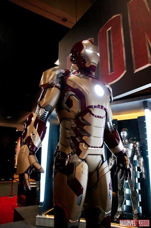 Tony Stark's Mark VII From Iron Man 3