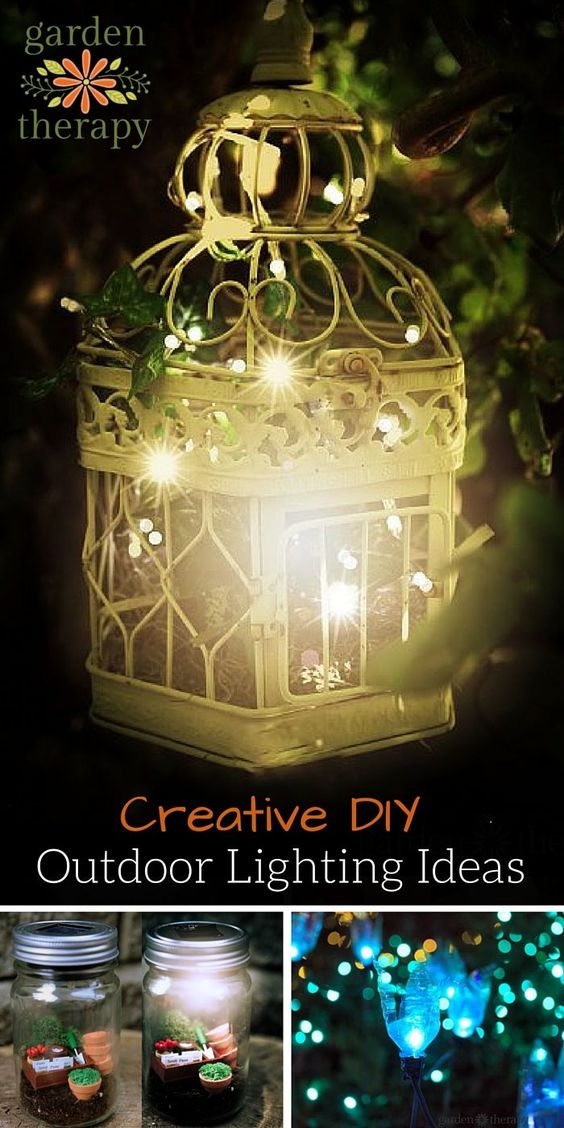 Gardens Creative And Lighting On Pinterest