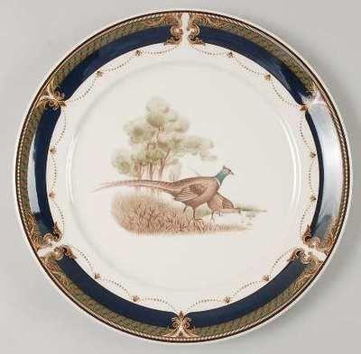 Keltcraft by Noritake Ireland 9188 Tranquil Glen Pheasant Dinner Plate