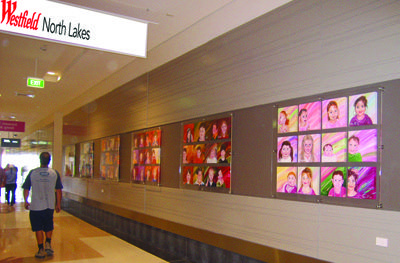 Art for business that reinforces your brand and tells your story.  Brisbane's Westfield North Lakes shopping Center commissioned 72 local kids portraits with a deadline!  You need it, I'll get it done.