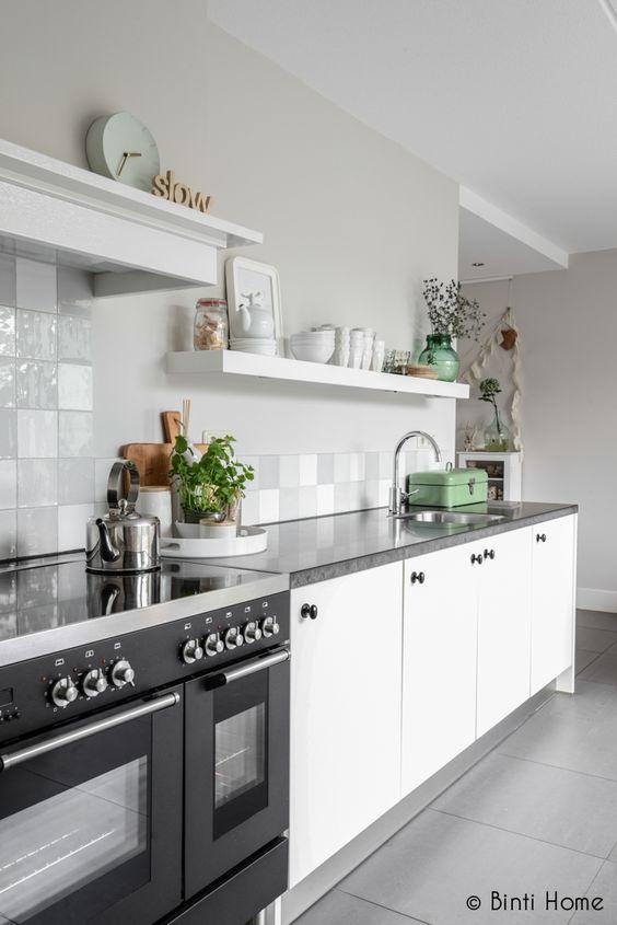 Modern met and modern kitchens on pinterest for Deco moderne keuken