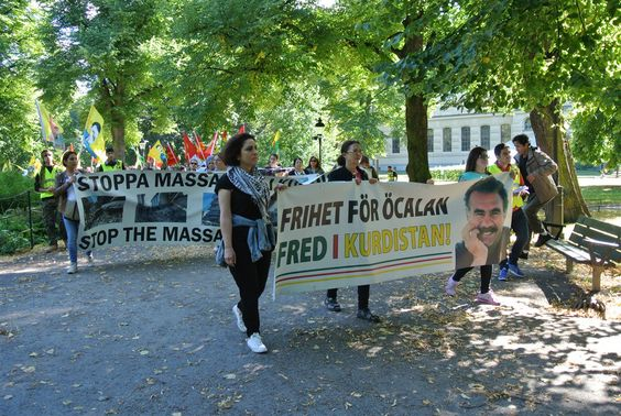 #Media #Oligarchs #MegaBanks vs #Union #Occupy #BLM #Rojava  Kurdish women in Sweden to stage two-day march for Öcalan   http://www.kurdishinfo.com/kurdish-women-sweden-stage-two-day-march-ocalan-2   Kurdish women in Sweden will stage a Long March with demand of freedom for Kurdish People's Leader Abdullah Öcalan...  RELATED VIDEO: HDP MPs on hunger strike: We will resist until Öcalan is contacted   http://www.kurdishinfo.com/hdp-mps-hunger-strike-will-resist-ocalan-contacted
