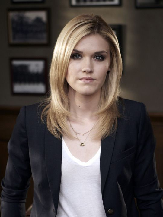 Emily Rose as Audrey Parker on Haven