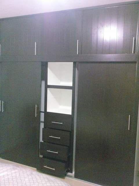 Cajonera Pvc.Closets De Muroblock Con Puertas Y Cajones De Pvc En 2019